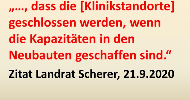 Zitat Landrat Scherer, 21. September 2020