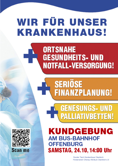 Demonstration in Offenburg 24. Oktober!