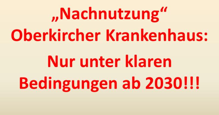 Nachnutzung 2030 Verträge