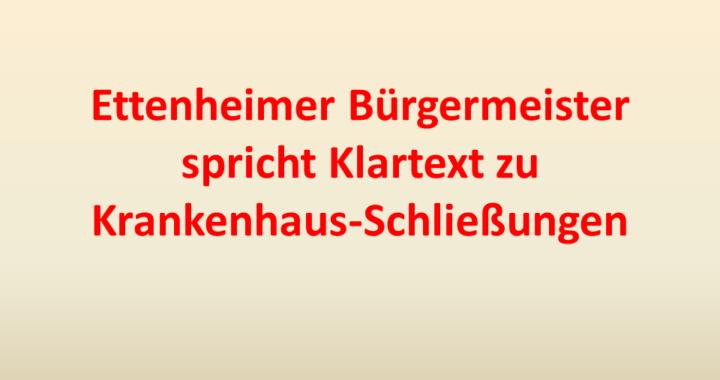 Ettenheim Schließung Klartext