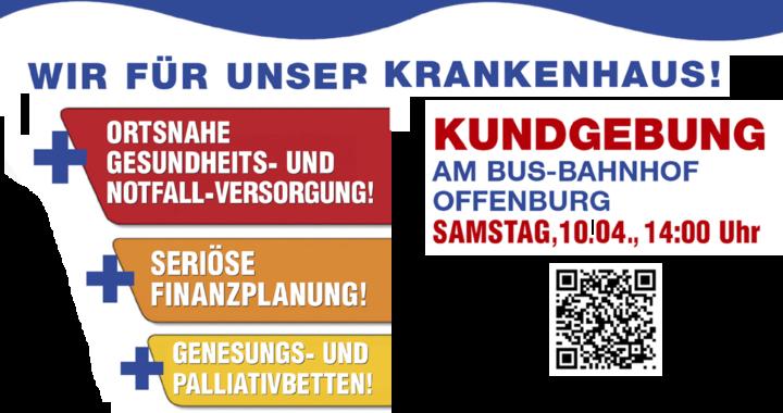 Kundgebung Offenburg 10. April