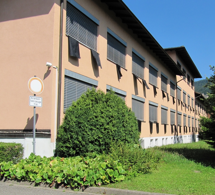 Trauerbeflaggung Schließung Krankenhaus Oberkirch Schließung